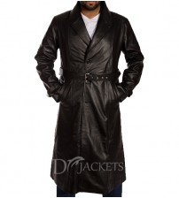 Leather Coat Man