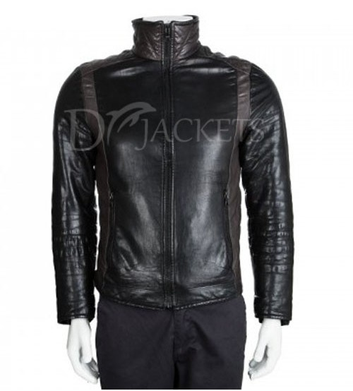 Sports Leather Jacket Man