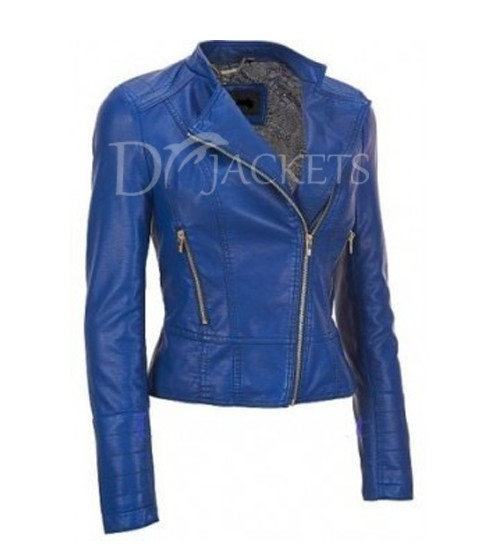 Casual Leather Jacket Women