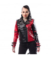 Cosplay Leather Jacket Women