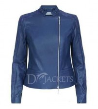 Sports Leather Jacket Woman
