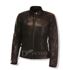 Sport Leather Jacket Woman